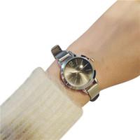 женские маленькие часы оптовых- Watch Women Quartz Watch Simple Bracelet Style Lady Steel Band Fashion Exquisite Fine With A Small Dial