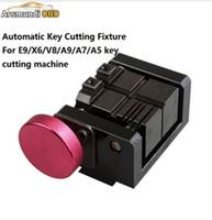 ingrosso macchina di taglio automatica x6-2018 dispositivo di taglio chiave automatica per E9 / X6 / V8 / A9 / A7 / A5 macchina di taglio Auto chiave auto taglio chiave automatica
