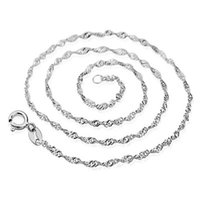 ingrosso collana in argento nichel-