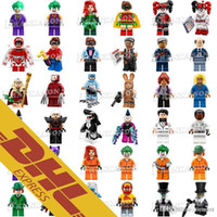Wholesale super hero mini toys - Wholesale Minifig Super Heroes Avengers Spiderman Space Wars Harry Potter Hobbit Figure Super Hero Mini Building Blocks Figures Toys