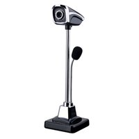 Wholesale night vision china - 2018 New M800 USB 2.0 Wired Webcams PC Laptop 12 Million Pixel Video Camera Adjustable Angle HD LED Night Vision With Microphone