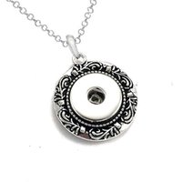 Wholesale christmas directions - Hot Sale High Quality 020 Snap Button Pendant Necklace Fit 18mm Buttons For Women Charm Interchangeable jewelry keychain one direction