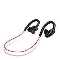 dual channel bluetooth großhandel-Hochwertiges Neckband Bluetooth 4.0 Kopfhörer Stereo-Dual-Channel-wasserdicht schweiß drahtlose Musik Sport-Headset mit Kleinkasten