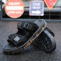 buenas zapatillas al por mayor-Nuevo diseño de Niza Calidad chanclas Zapatillas Mastermind JAPAN x SUICOKE KISEEOK-044V Sandalias Suicoke Depa Suela Diapositivas