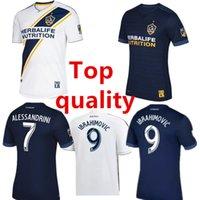 jersey de zardes venda por atacado-Jersey de futebol Los Angeles Galaxy Camiseta de futbol 2018 19 Gerrard Ibrahimovic Camisas de futebol de GIOVANI ZARDES ROGERS Início Novos kits MLS