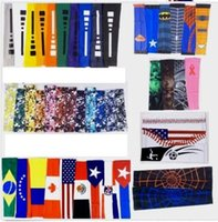 Wholesale kind sleeves - 2018 New Compression Arm Leg Warmers sleeve sport baseball football basketball camouflage more than 128 kinds of colors