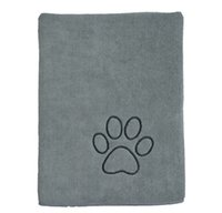 """Wholesale Wholesale Paw Print Towels - Wholesale-SINLAND Ultra Absorbent Microfiber Pet Towel with Embroidered Paw print 30""""x50"""" 3 Colors 50 pieces"""