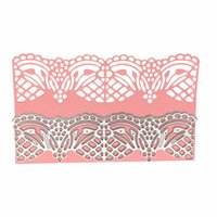 Matrices Dartisanat Fleur Lace Border Album Decoupe De Pour Cartes Scrapbooking Et Papier Craft