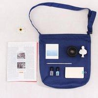 ingrosso fionda della spalla della tela-36 * 38 * 7cm Canvas Shoulder Bag originale Letteratura e Sling Bag arte modello DHL Bag vuoto