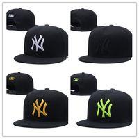 bádminton en línea al por mayor-Nueva llegada de compras en línea NY Moda ajustable Sombrero W Letras Snapback Cap Hombres Mujeres Baloncesto Hip Pop