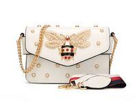 Wholesale designer gems - Gem Little Bee women bag Brand Desinger Pendant lady leather handbag luxury series handbags women bags designer