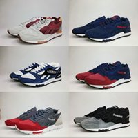 Wholesale fashion boots online - Wholesale Online Reebok LX8500 Mens Fashion Running Shoes Mesh uppers Boots Black Red Blue Grey Mixed color Sport Sneakers