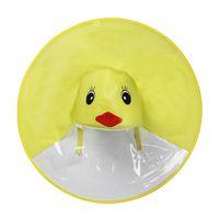Wholesale very funny - New children's raincoat yellow duck raincoat very funny raincoat the girl and boy