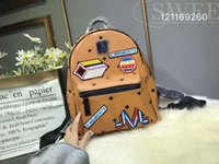 Wholesale brown white rabbit - New Korean fashion punk backpack unisex rabbit backpack student bag