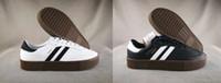 suela gruesa calzado deportivo al por mayor-2018 nuevos llegan SAMBAROSE Hombres Mujeres zapatos casuales Bizcocho de esponja Zapatos de suela gruesa para hombre deportes al aire libre para mujer zapatos 36-44 js