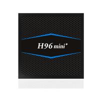 mini caja internet tv al por mayor-H96 Mini + Android 7.1 CAJA DE Smart TV 2GB 16GB Reproductor de medios S905W Quad Core Wifi USB HDMI 4Kx2K Set de TV para Internet TV