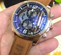 marcas de relojes deportivos hombre al por mayor-2018 AAA Relojes de pulsera Hombres Diseñador de la marca de lujo TAG Moda hombres Reloj deportivo Cronógrafo Reloj masculino Fecha automática Relojes para hombre