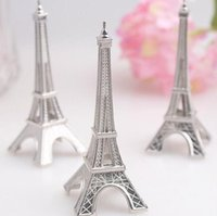 Wholesale Christmas Place Card Holders - 100 pcs lot Wedding favor Eiffel Tower Place Card Holder Wholesale DHL Fedex Free Shipping #BN-47