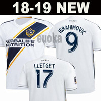 Wholesale beckham jerseys - LA Galaxy Soccer jersey 2018 IBRAHIMOVIC 18 19 Los Angeles Galaxy Camisa GERRARD GIOVANI BECKHAM DOS SANTOS KAMARA LA galaxy maillot de foot