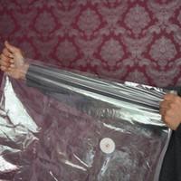 bombas de vácuo venda por atacado-Saco de Compressão da Bomba de vácuo Organizador Comprimido Colcha de Algodão Enchimento Roupas Pouch Dustproof Grande Espaço Saver Sacos De Armazenamento 14 5bz4 bb