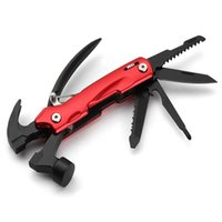 Wholesale Diy Survival - New 12-IN-1 Material Multi-Function Pliers Hand Mini Portable Outdoor Survival Butterfly Folding Knife 2Cr13 DIY Gadgets