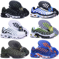 Wholesale Ups Tuning - Air Ultra Plus TN Metallic Gold men running shoes 2018 Air Plus GPX TN1 Tuned Men Shoes black red airs tn sports shoes