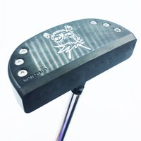 Wholesale skull golf clubs for sale - Group buy New Cooyute Golf clubs FORGED Skull multicolor Golf putter inch black Clubs putter N S PRO R steel Golf shaft