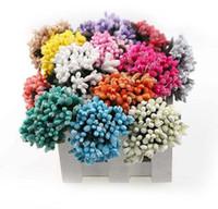 Wholesale pearls for scrapbooking resale online - 12pcs cm Pearl Berry Artificial Stamen Flower For Wedding Home Decoration Pistil DIY wreath Scrapbooking Craft Fake Flowers