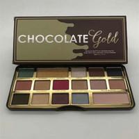 16 тени для век оптовых-Высшее качество ! Известный бренд с шоколадно-золотым оттенком теней для век 16 цветов водонепроницаемый и долговечный тени вашей мечты