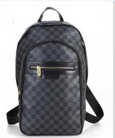 Wholesale Hot Style Laptop Bags - Hot Fashion Luxury brand women Men bag School Bags PU leather Fashion Famous designers backpack women travel backpacks laptop bag