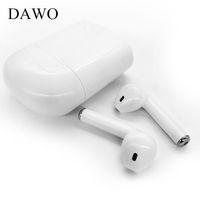 Wholesale Bluetooth Se - DAWO i7 TWS Binaural Wireless Headphones Earbuds Bluetooth Earphones V4.2 Stereo Headset For Iphone 7 plus 7 6s 6 plus SE