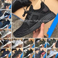 Wholesale Navy Surface - Wholesale Cheap New NMD XR1 Boost Duck Camo Navy White Army Green for Top quality MND III Net Surface Running Shoes Size 36-45 Free Shipping
