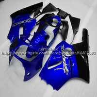 zx12r blau großhandel-23colors + 5Gifts SPRITZGIESSFORM ABS blau Verkleidung für Kawasaki NINJIA ZX12R 00-01 ZX-12R 2000 2001 ABS-Kunststoff-Karosserie-Kit