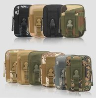 Wholesale Tactical Pouch Tactical Admin Pouch With Cell Phone Pack Gear Tools Organizer Military Nylon Utility Outdoor Camping Pouch