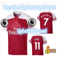 Wholesale quick delivery - top free delivery 18 19 AUBAMEYANG LACAZETTE soccer jersey home MKHITARYAN 2018 2019 OZIL XHAKA RAMSEY away football jerseys shirt