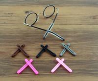 conseils de lunettes achat en gros de-En gros haute qualité élastique Silicone Anti-slip Titulaire Pour Lunettes Accessoires Oreille Crochet Lunettes Temple Astuce