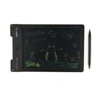 yeni çizim tableti toptan satış-Yeni Orijinal Çizim Kurulu LCD Yazma Ekran Ile Taşınabilir Dijital Yazma Tablet + Çizim Kalem Çocuklar Için 9 inç El Yazısı Pedleri Çizim ...