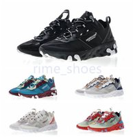 Wholesale transparent rubber shoes - UNDERCOVER x Upcoming React Element 87 Reactive element semi-transparent series avant-garde running shoes 36-45