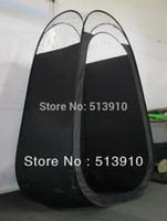 ingrosso tende spray-Tenda abbronzante spray di colore nero con top in plastica di alta qualità popolare nel mercato europeo americano
