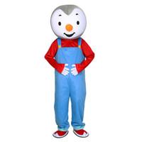 trajes carnaval tema festa venda por atacado-T'choupi Mascot Costumes Tema animado Cospaly Mascote dos desenhos animados Personagem Halloween Carnival party Costume