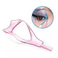Wholesale mascara guide resale online - New Hot Sale Make up Mascara Guide Applicator Eyelash Comb Eyebrow Brush Curler Tool