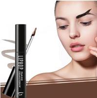 Wholesale eyebrow dye cream - Hot Selling Beauty Makeup Eyebrow Cream Eye Tint Set Kit Dye Eyebrow Natural Eyebrow Gel Long Lasting