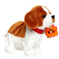 Wholesale pet robot toys for kids for sale - Sound Control Robot Dog Electronic Dog Pet Walk Bark Puppy Electronic Pets Kids Gift Interactive Plush Pet Toys For Children