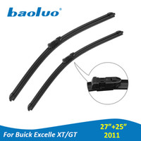 "Wholesale buick excelle - Windshield Wiper Blades For Buick Excelle XT GT 27""+25"" 2011 Year Pair Rubber Windscreen Wipers Auto Parts Car Accessories"