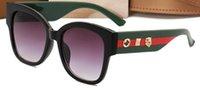 ingrosso occhiali di alta moda-Occhiali da sole da pilota di alto design Occhiali da sole montatura in metallo Occhiali da sole occhiali da vista retrò sportivi Per le donne Occhiali classici da moda