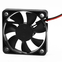 ventilador de 12v para enfriamiento. al por mayor-Al por mayor-50 mm x 50 mm x 10 mm 5010 DC 12V 0.1A 2Pin ventilador de refrigeración sin escobillas
