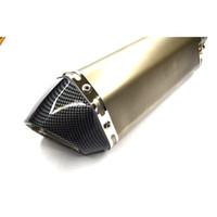 tubo de escape modificado al por mayor-Para 36-51 MM Modificado Universal motocicleta motocicleta tubo de escape silenciador para ktm duke RC200 duke390 150nk cf150nk BN300 BJ300