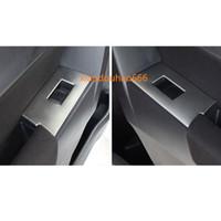 toyota lift venda por atacado-Para Toyota Corolla Altis 2017 2018 2019 estilo do carro ABS cromo interior da porta painel de vidro Da Janela Braço Elevador Interruptor Botão guarnição quadro 4 pcs