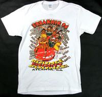 üniversite tişörtleri toptan satış-Vintage 90'lı Freaknik 96 Freaknic Tee Tişört Siyah Koleji Yeniden Yazdır Yeni
