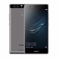 huawei android 4gb оптовых-Восстановленное в Исходном Huawei P9 4 Г LTE 5.2 дюймов Octa Core 3 ГБ / 4 ГБ RAM 32 ГБ / 64 ГБ ROM 12MP Камера Dual SIM Android Смартфон Бесплатно DHL 1 шт